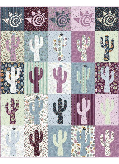 """Seguaro 3 Quilt by Everyday Stitches /60""""x78"""""""