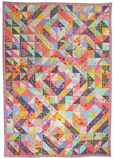 Parterre Quilt by Tamara Kate helen's garden