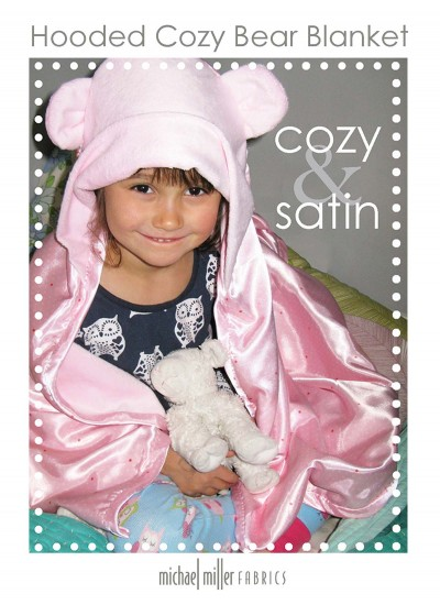 Hooded Cozy Bear Blanket Tutorial