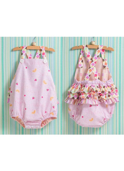 cd403a409a6 Ice Cream You Scream Romper