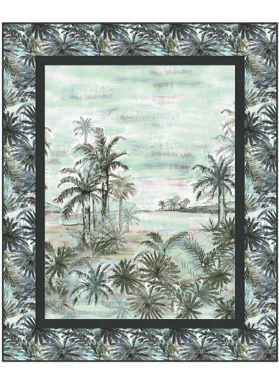 """landscape Beauty quilt by Heidi Pridemore /43""""x53"""" - Instructions Coming Soon"""