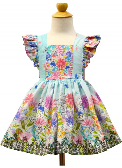 Les Jardins Bellevue Dress