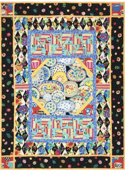 """Lots of Dishes Quilt /42""""x56"""" by Marinda Stewart - Instructions Coming Soon"""