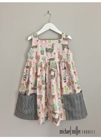 636910852d045 The sally Dress by Very Shannon lovely llamas