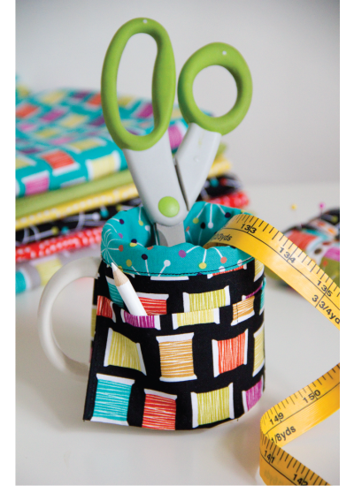 Love to Sew tool cup cover