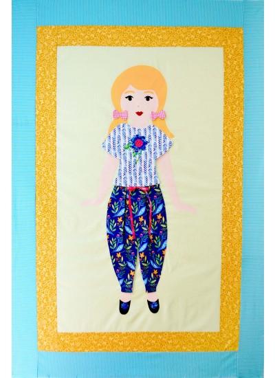 Lulu Paper Doll Pattern by Kaitlin Witte