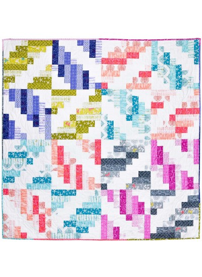 Mapleton Avenue Quilt by Sassafras Lane /64x64""
