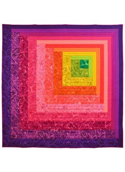 """Reverberance Quilt by Shannon Fraser /63""""x63"""""""
