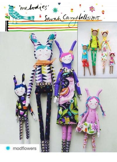 Melodies  Dolls by Modflower