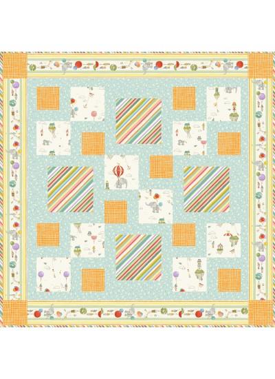 """Merry Mixers Quilt by Rachel Rossi /48.5""""48.5"""""""