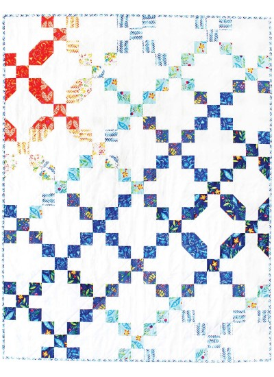 "Frolic Migration Quilt by Tamara Kate  / 41""x53"""
