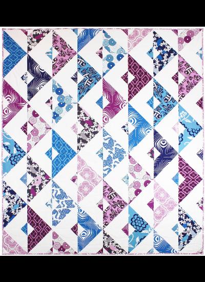 """Mirage Quilt by Tara Faughnan  / 64x72"""""""