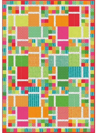 Mouse Trap Quilt by Sam Hunter of Hunters design Studio