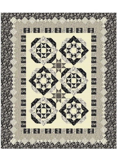 """New Beginnings Quilt by Susan Emory /92""""x102"""" - Instructions Coming Soon"""