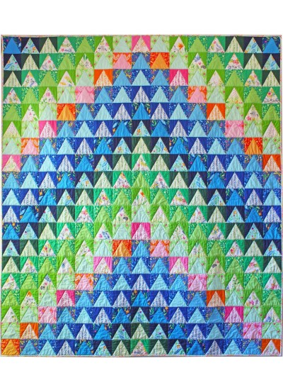 Over The Mountain Quilt By Tamara Kate 71x81 Inspirations