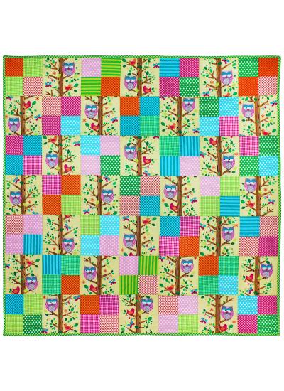 Owlery Quilt by Ellen Maxwell