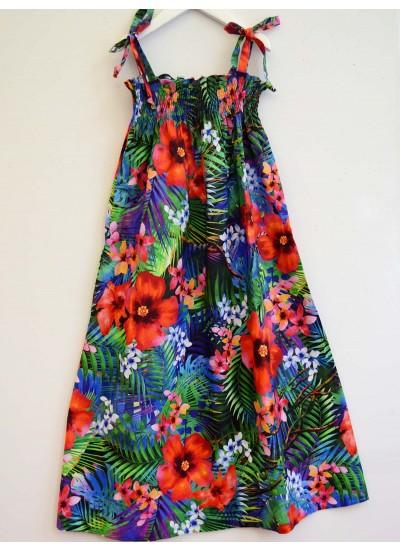 Tropical Dreams Girls Dress