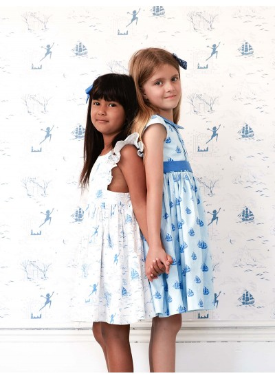 Polly Pinafore and Penelope Dress