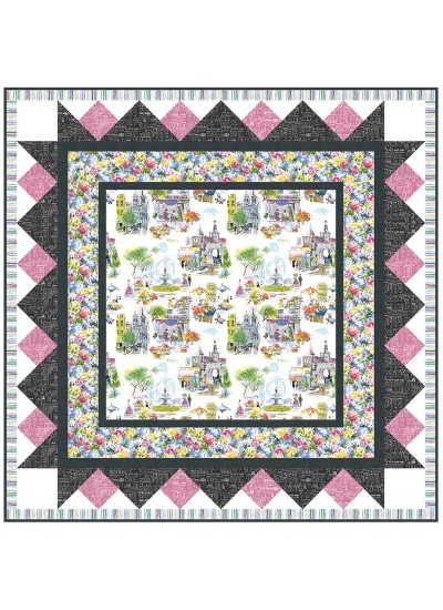 "Alfresco Quilt by Heidi Pridemore /42""x42"""