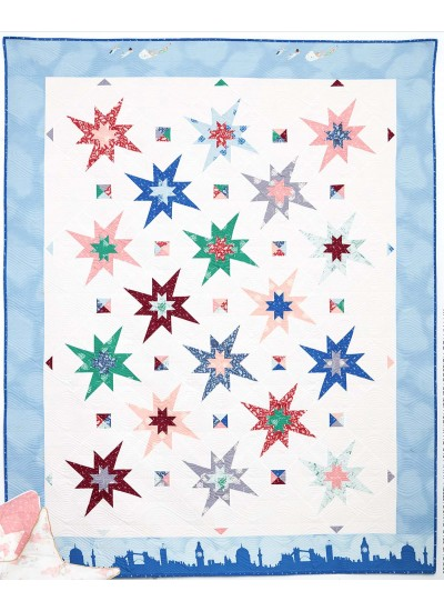 Second Star Quilt by Knot and Thread Design