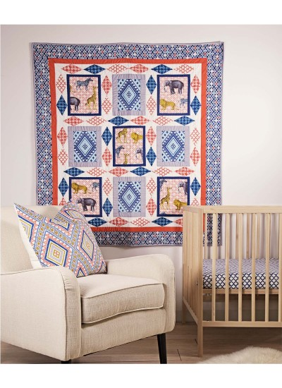 Seedling Safari Quilt By Heidi Pridemore 50x59 Inspirations