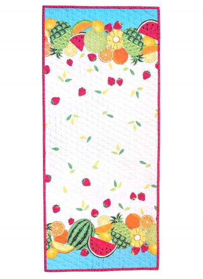 Sew Fruity Border print Runner by Susan Emory