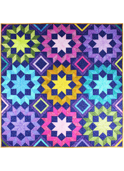 Star Frost Quilt by Marsha Evens Moore
