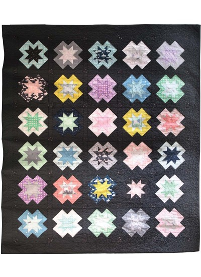 Star Bright Quilt by Sandra Clemons /80x94""