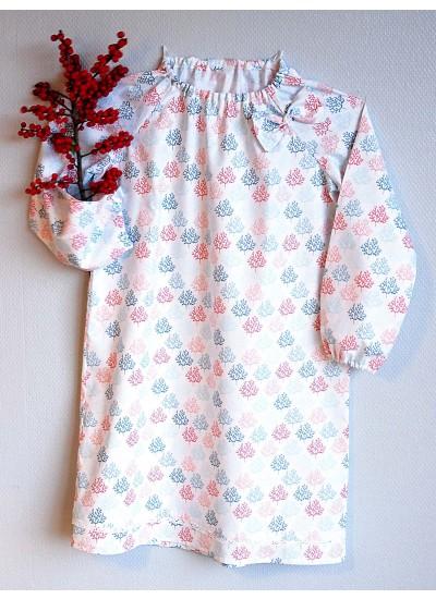 Strawberry Tea Antigone Pierrot Collar Nightgown