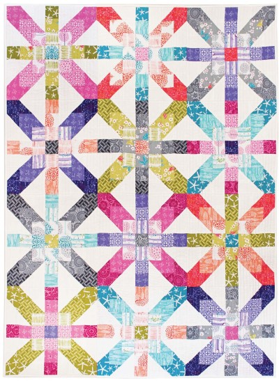 Supernova Quilt By Tamara Kate 43x59 Inspirations Project