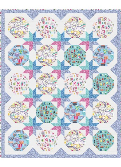 Curio Cabinet Quilt by Natalie Crabtree