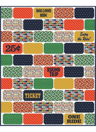 """Ticket to Ride by Emily Herrick / 63""""x86"""""""