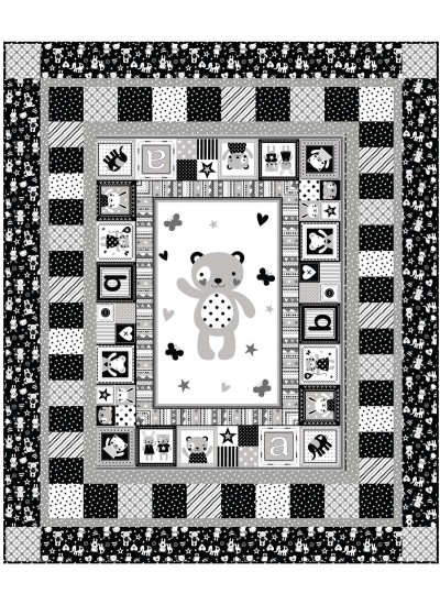 """Tiny Tots Quilt by Heidi Pridemore /50""""x60"""" - Instructions Coming Soon"""