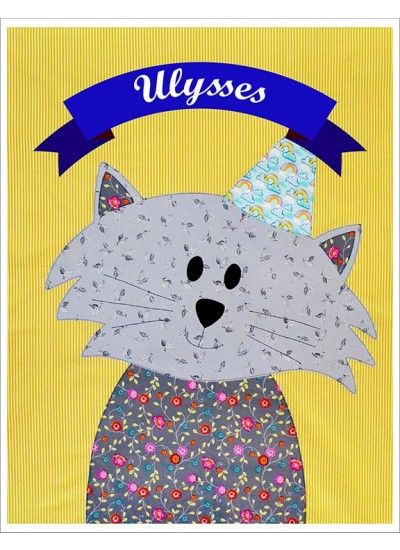 "Ulysses Quilt  by Shiny Happy World /42""x42"""