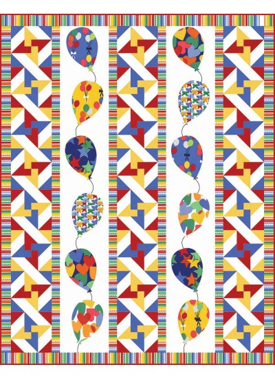 """UP! Quilt by Heidi Pridemore / 50x64"""""""
