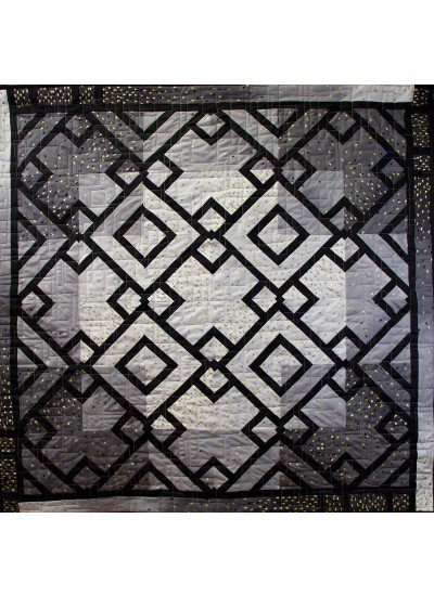 Variegated 3 Duded Quilt by Rob Appell