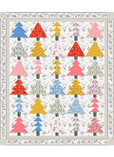 "Winter dream Quilt by Charisma Horton 72""x84"""