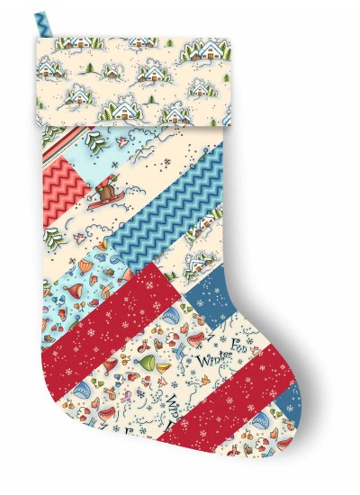 "Santas Socks by Christine Poor /11""x17"""