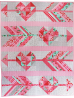 Cupid's Arrow Quilt by Tamara Kate