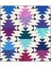 "Krystal Desert Sky Quilt by Jessica Vanderburgh of Sew Many Creations /54""x60"""