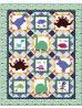 """dino World Quilt by heidi pridemore / 67""""x85"""" - Pattern will be available in April"""
