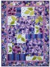 "Dressden Fantasy Bloom Quilt by Marinda Stewart /42""x58"""