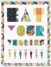 "Eat Your Veggies Quilt by Tamara Kate /44""x57"""