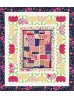 """Feng Shui Floral Quilt by Wendy Sheppard /46""""x52"""" - Pattern willbe available in June"""