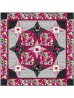 """Floral fantasy Quilt by Stephanie Sheridan /57""""x57"""""""