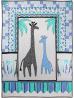 Giraffes, Oh My! Quilt by Marinda Stewart