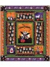 """Howl-O-Ween Quilt by Heidi Pridemore /54""""x60"""""""