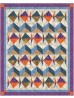 "Keep Swimming Batik Quilt by Denise Russell /51""x64"""
