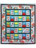 """Monsters in the Closet Quilt by Heidi Pridemore /54""""x61"""""""