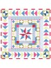 """One Day in May Quilt by Lily Ashbury  /95.5""""x95.5"""""""